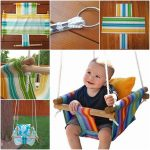 Wonderful DIY Hammock Type Baby Swing