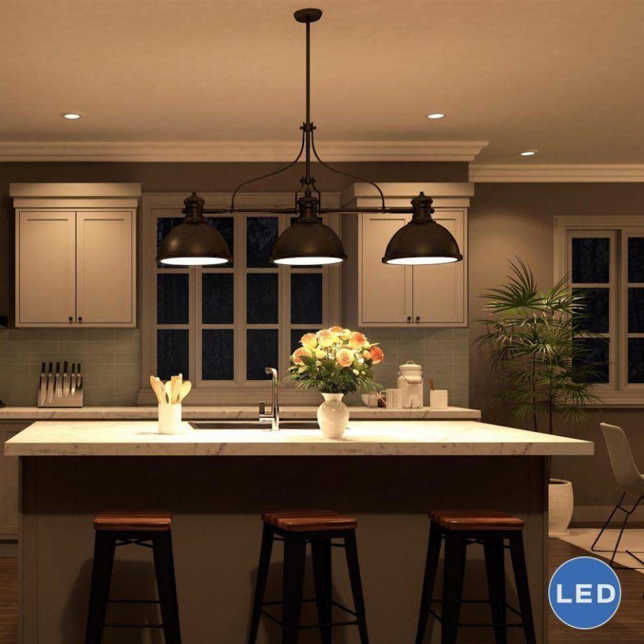 Wonderful Image of Lighting Fixtures Over Kitchen Island – Interior Design Ideas & Home Decorating Inspiration – moercar