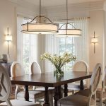 Wonderful Photo of Dining Room Drum Chandelier