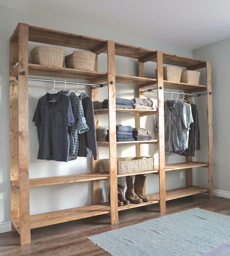 Wood Closet Shelving | Ana White