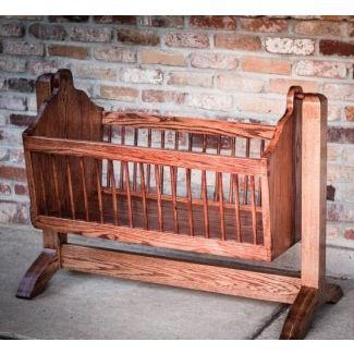 Wooden Bassinet Cradle