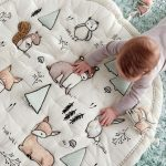 Woodland Animals Baby Activity Mat + Reviews | Crate and Barrel