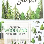 Woodland Trees Baby Bedding