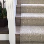 Wool carpet fabricated into a …