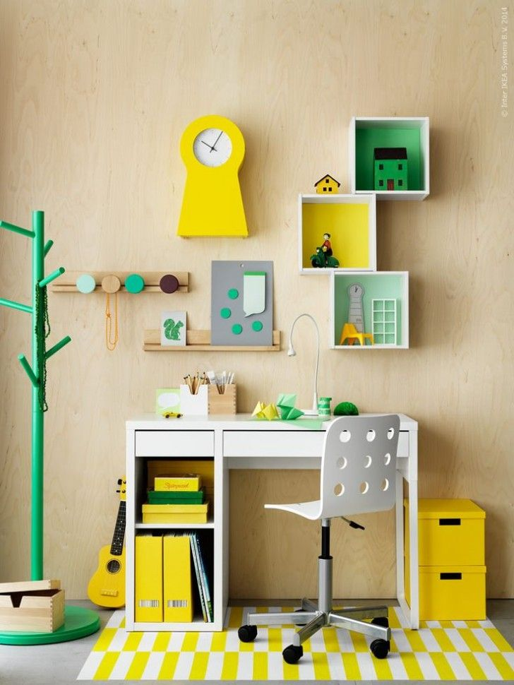 Workspaces for Kids: Micke Desk by Ikea – Petit & Small