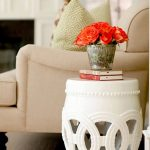 absolutely love this garden stool side table. Click link to view whole room  i a...