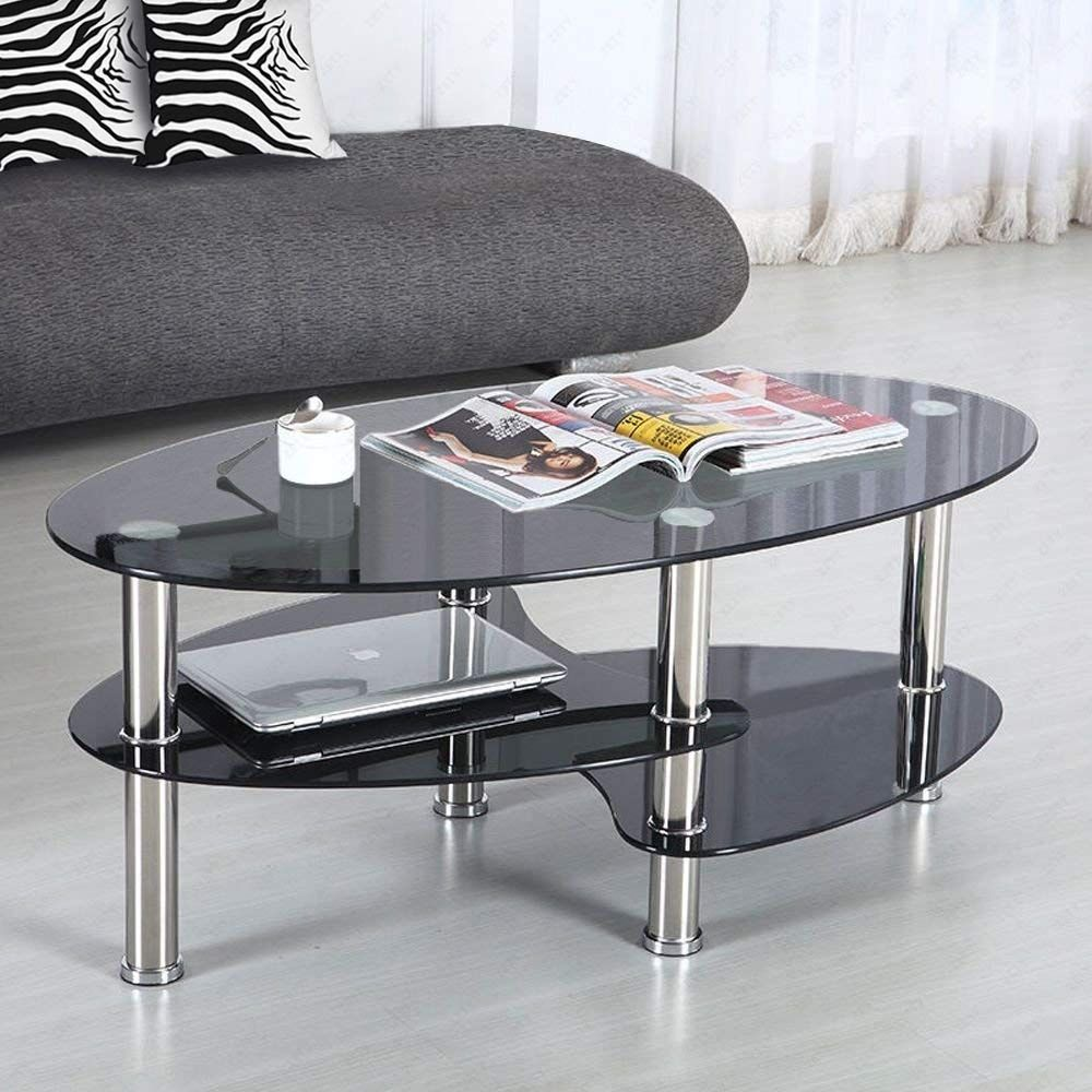 black and clear glass coffee table Collection-black glass coffee table suncoo glass coffee ta…