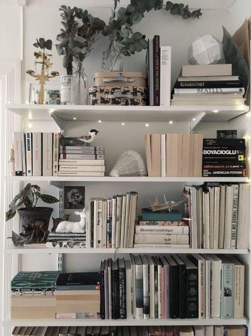 bookshelf ideas, DIY bookshelf decorating ideas, bookshelves for small space, un…