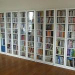 bookshelf with glass doors - Penelusuran Google