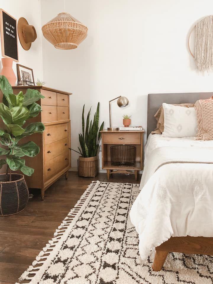 comfy bedroom space