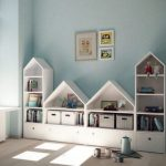 creative and original kids bedroom furniture ideas with geometric shapes  #geome...