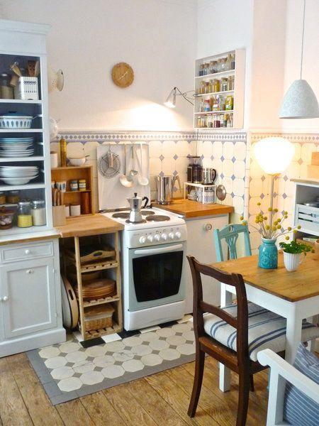 die holzige, kleine Küchenuhr….. – https://pickndecor.com/interior