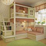 made to order gorgeous cottage bunk bed with stairs