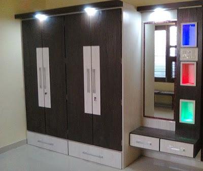 modern bedroom cupboard design ideas – wooden wardrobe interior designs 2019