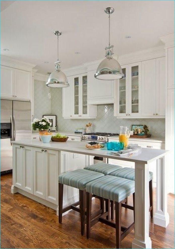 narrow kitchen island with seating 5 – Decor Renewal