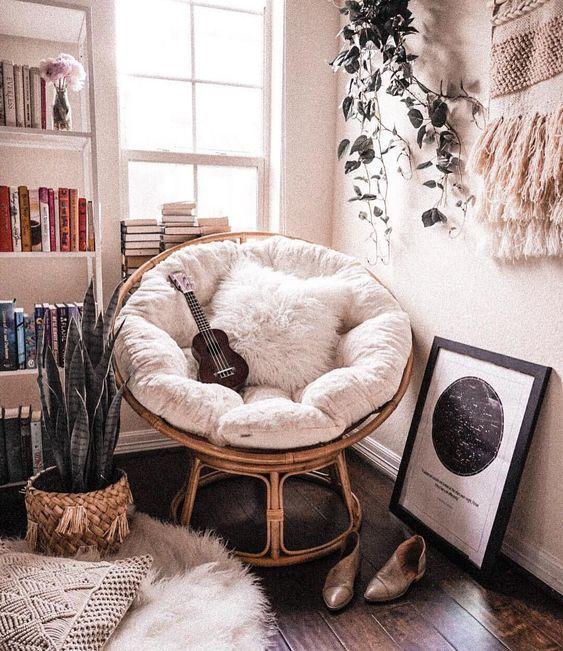reading nook, reading corners; living room decors; bedroom decors; comfortable c…