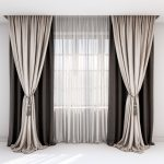 rown and beige curtains, Roman blind and window #curtains, #beige, #rown, #windo...