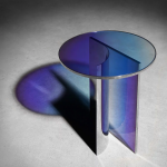 studio buzao sculpts blurring glass furniture collection for gallery ALL