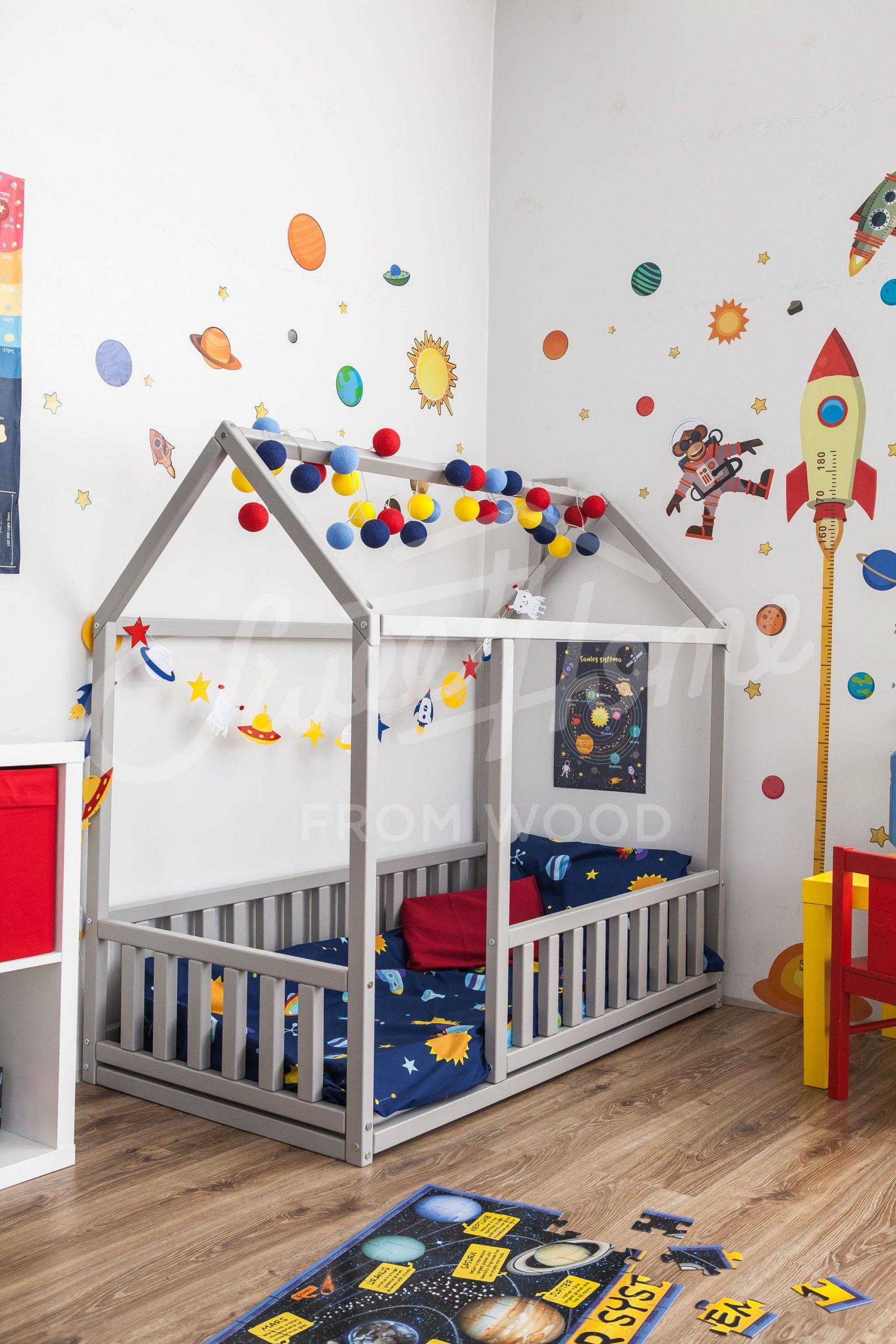 teepee bed, bedroom decor, kids floor bed, modern kids bed, toddler bed,