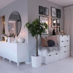 woman's bedroom, Bedroom dressers, home decoration