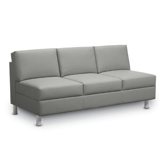 Global: Citi 3-Seat Sofa - Armless   78