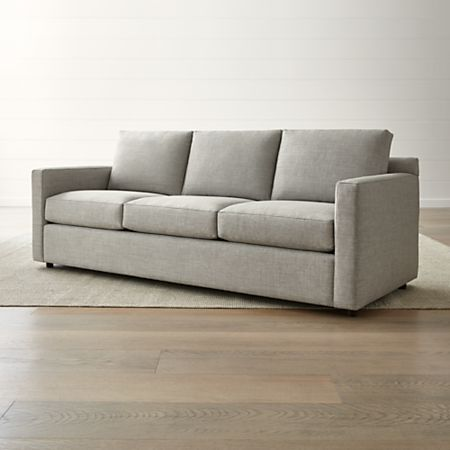 Barrett 3-Seat Track Arm Sofa + Reviews | Crate and Barr