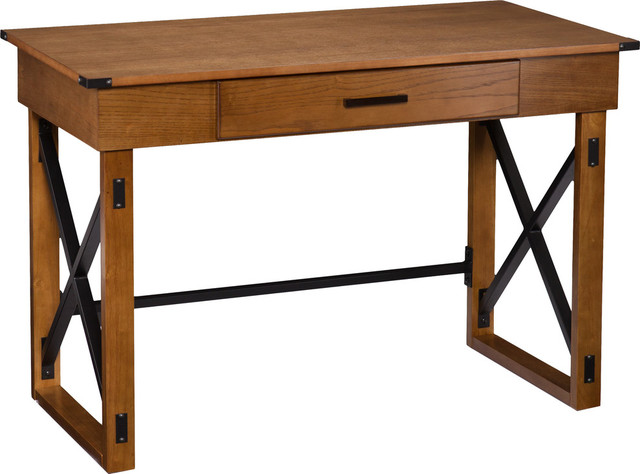 Canton Adjustable Height Desk - Industrial - Desks And Hutches .