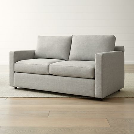 Barrett Track Arm Apartment Sofa + Reviews | Crate and Barr