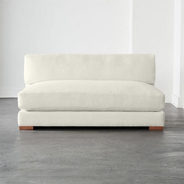 Piazza Snow Apartment Sofa + Reviews | C