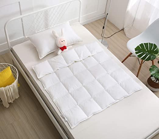 Amazon.com: C&L Baby Crib Comforter/Duvet/Blanket All Season 100 .