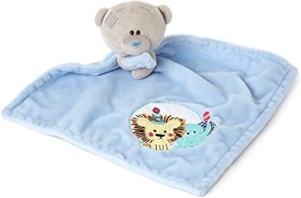 Amazon.com: Me To You Tiny Tatty Teddy Baby Comforter, Blue: Toys .