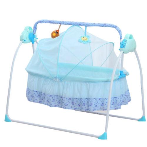 Electric Baby Cradles Bed Auto Baby Crib Cradle Rocking Chair .