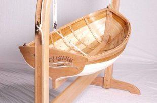 Traditional boat builders baby cradle - by Deckerpair .
