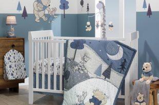 Lambs & Ivy Disney Baby Nursery Crib Bedding Set - Forever Pooh .