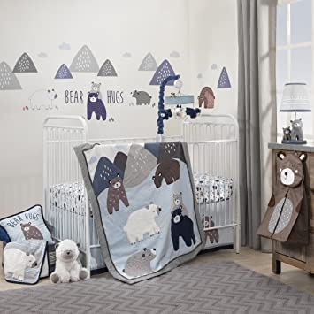 Amazon.com : Lambs & Ivy Signature Montana 6-Piece Baby Crib .