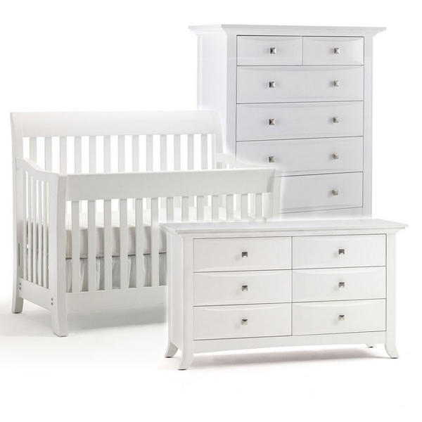 20 Beautiful White Nursery Furniture - Fox Home Desi