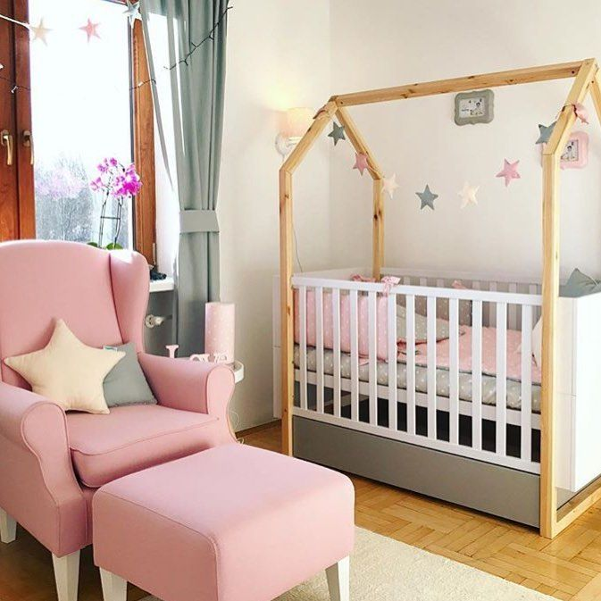Baby #Girl #nursery #furniture Set. Charming #scandinavian .
