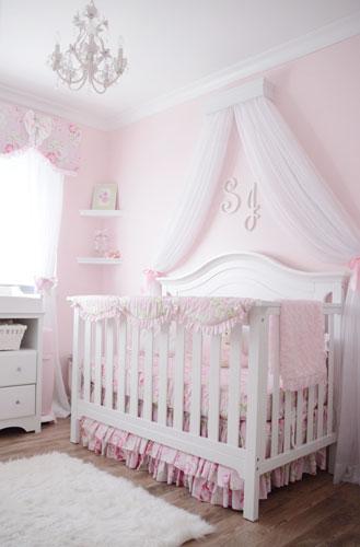Baby Girl Nursery Ideas | Pink Baby Nursery | Baby Girl Room Ide