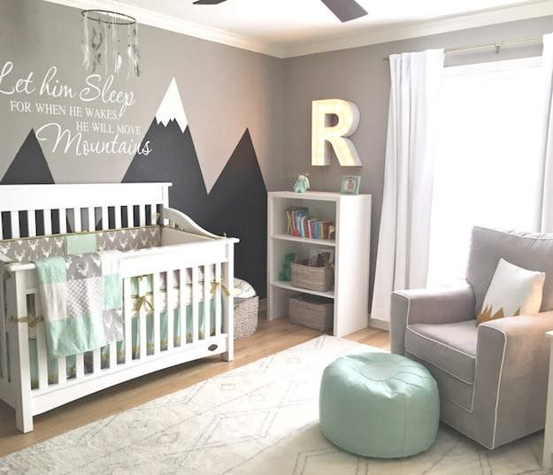 Baby Room Themes: 21 Ways To Design A Nursery | Nursery room boy .