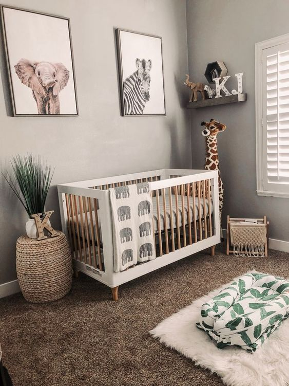 45 Beautiful Baby Girl Nursery Room Ideas – 2019 | Baby room .
