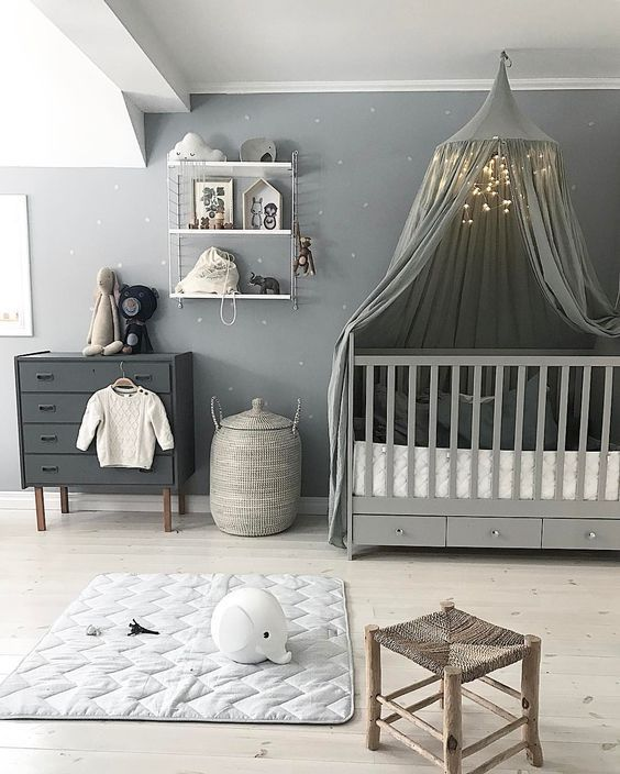 Nursery Decoration Ideas: Unisex Style | Baby room themes, Pink .
