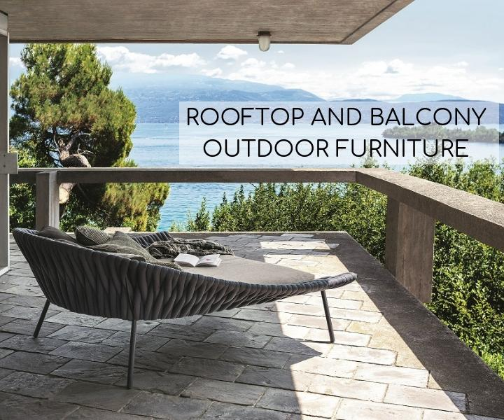 UP, UP, BUT NOT AWAY: ROOFTOP AND BALCONY OUTDOOR FURNITURE – Casa .