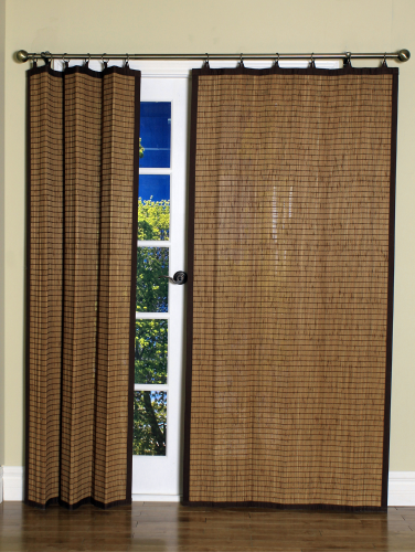 Woven Bamboo Blackout Top Panel | Organic and Sustainable Window Pan