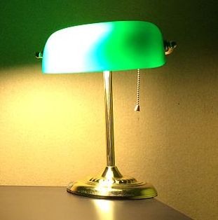 Banker's lamp - Wikiped
