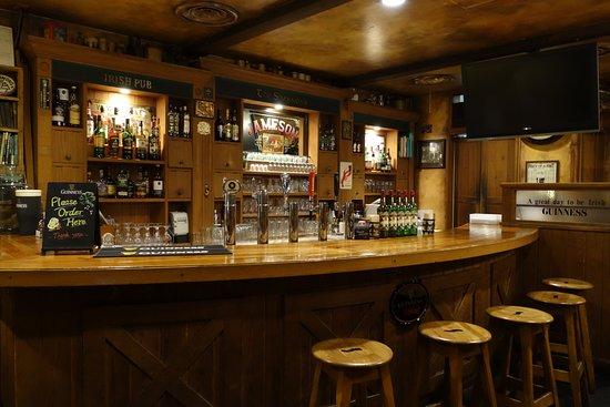 Bar Counter - Picture of IRISH PUB The Shannons', Osaki - Tripadvis