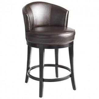 Leather Swivel Bar Stools - Ideas on Fot