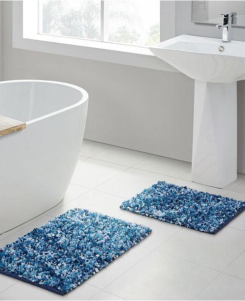 VCNY Home Di Shag 2-Pc. Bath Rug Set & Reviews - Bath Rugs & Bath .