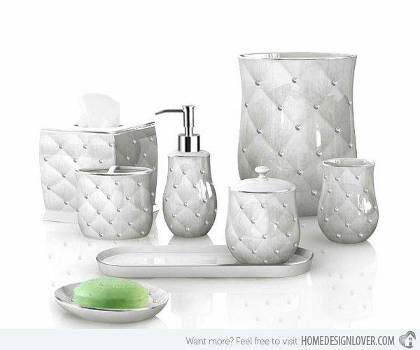 15 Luxury Bathroom Accessories Set | Bathroom accessories luxury .