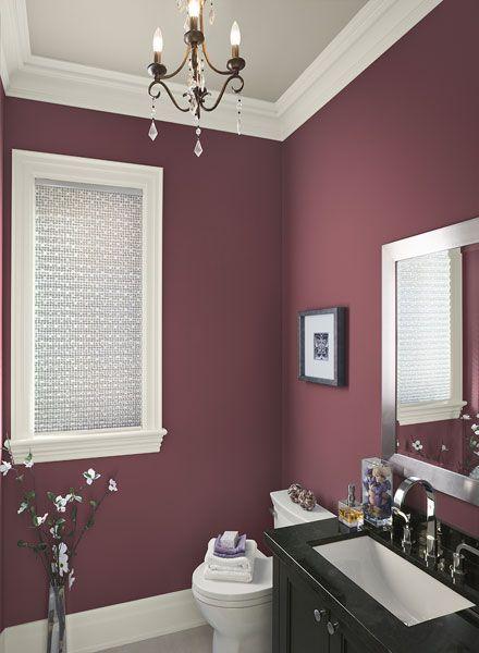 Bathroom Paint Color Ideas & Inspiration | Bathroom red, Room .