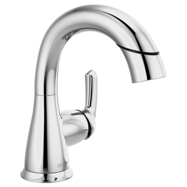 Single Handle Centerset Pull-Down Bathroom Faucet 15765LF-PD .